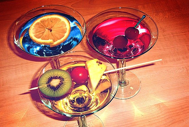 tři koktejly