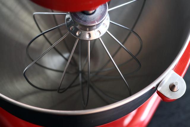 červený mixer
