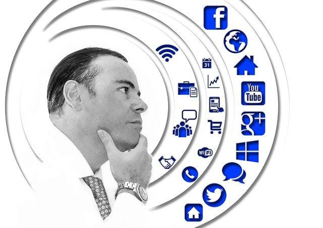 muž a ikony