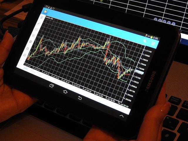 Vývojový graf na tabletu