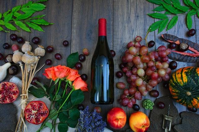 Víno v lahvích